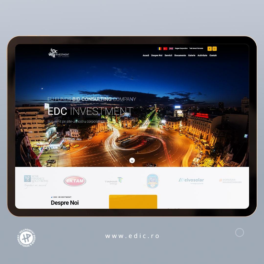 edc-investment-romania-web-design