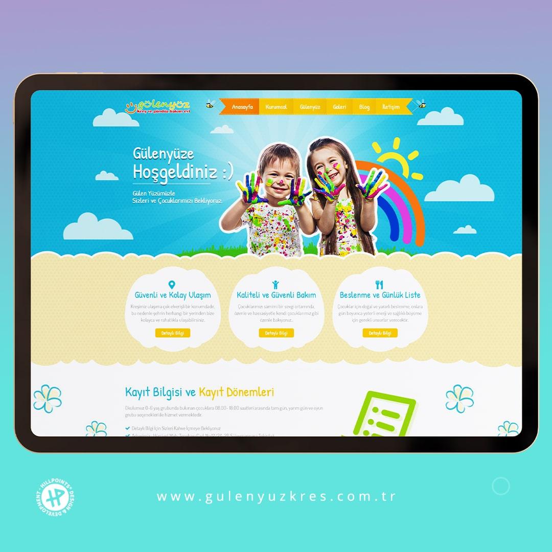 gulenyuz-kres-tekirdag-web-tasarim-ajansi