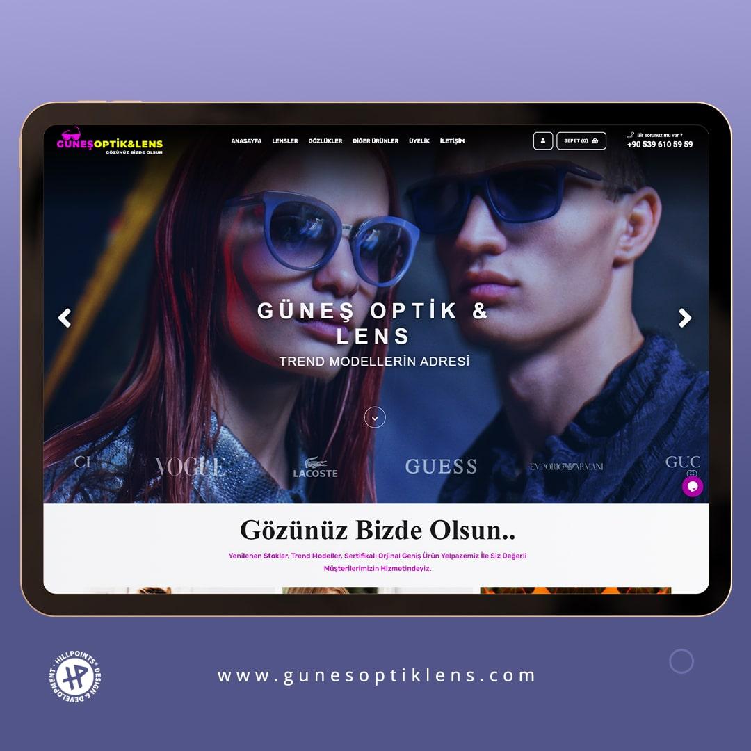 gunesoptiklens-eticaret-tekirdag-web-tasarim