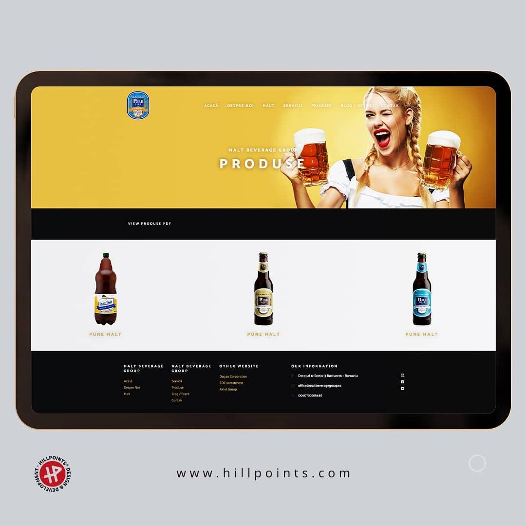 malt-beverage-group-web-bucuresti-web-design
