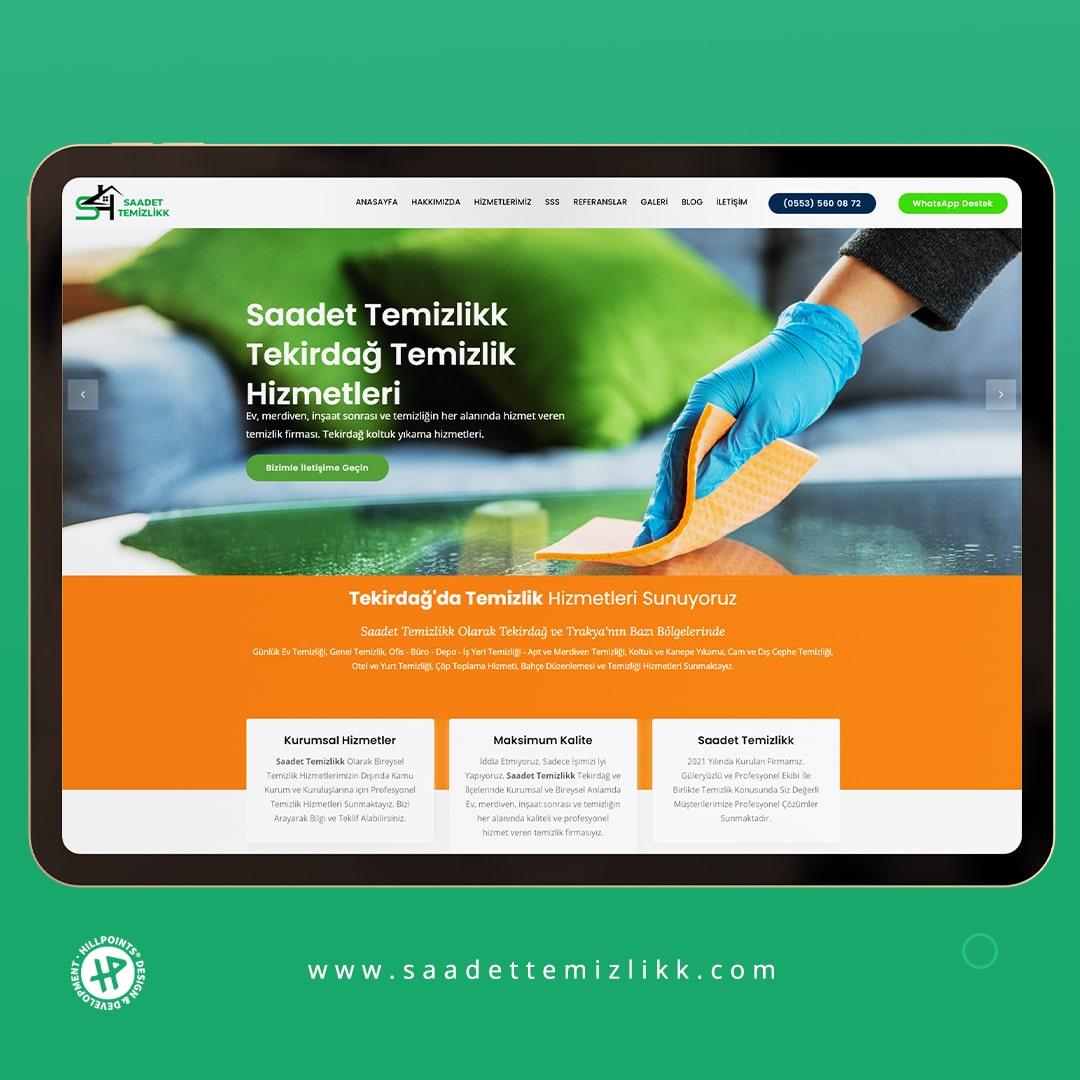 saadet-temizlik-tekirdag-web-tasarim-referans
